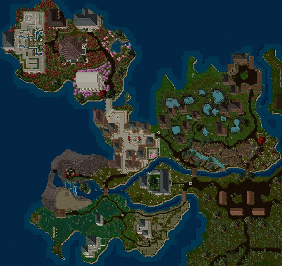Close map of Yew