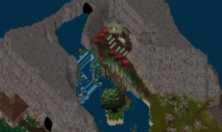 Holy waterfall  and mine